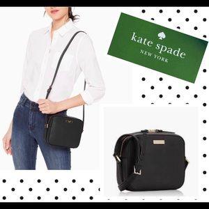 Kate Spade ♠️ Newbury Lane Cammie black crossbody